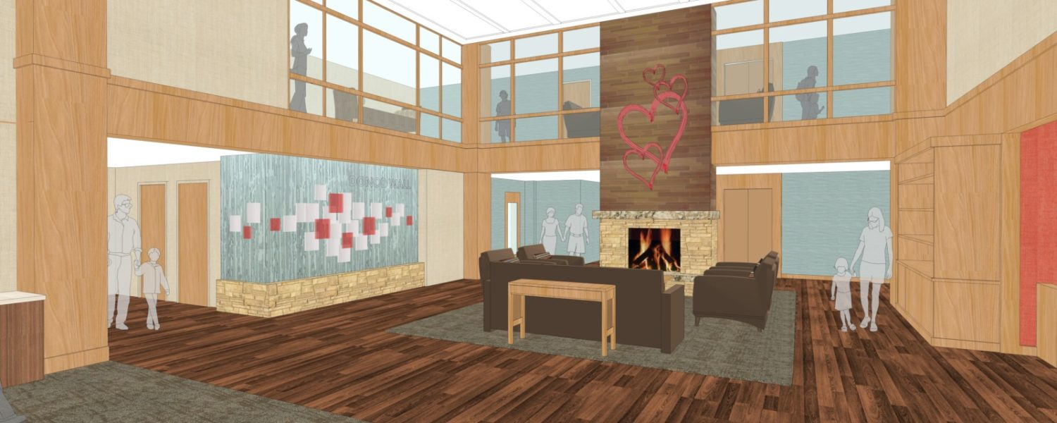 Ronald McDonald House of Rochester MN Heart of the House Expansion Drawing